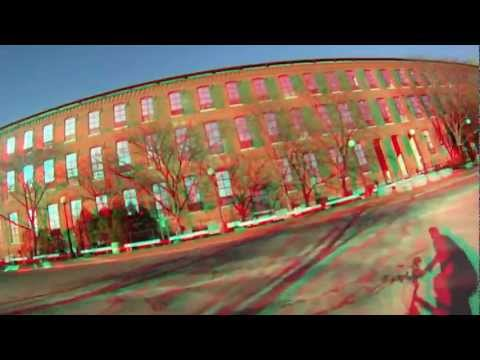 3D Lowell (requires red/blue glasses) bike training virtual cycling