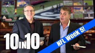 NFL Picks Week 5, Football Betting Analysis | The 10 IN 10 Show