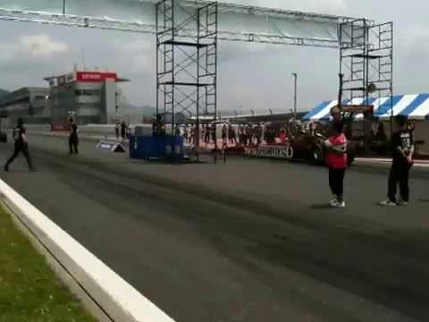 2013 IAF TopFuelDpagster BROADCASTER Racing 1st.