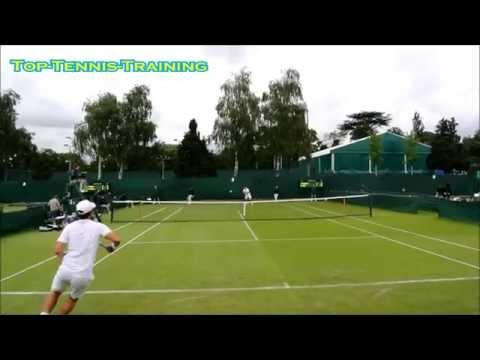 Wimbledon Tennis Compilation Court Level