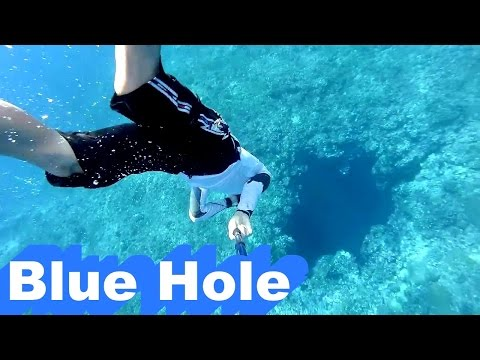 Orchid Island's Blue Hole?