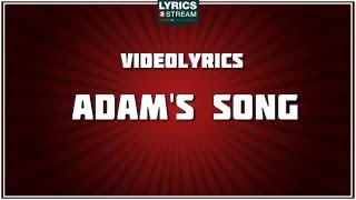 Adams Song Lyrics - Blink 182 tribute - Lyrics2Stream