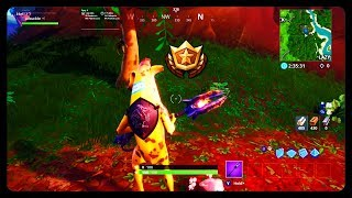 WEEK 6 SECRET BANNER LOCATION! FORTNITE SEASON 8 WEEK 6 SECRET BATTLE STAR CHALLENGE