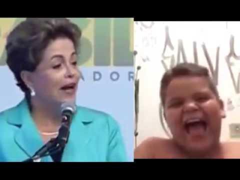 Piada da Dilma Rousseff. Kkkk