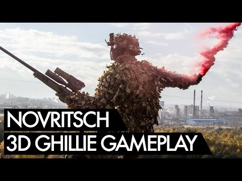 Novritsch 3D Ghillie in Action - Hungary Airsoft Sniper Gameplay
