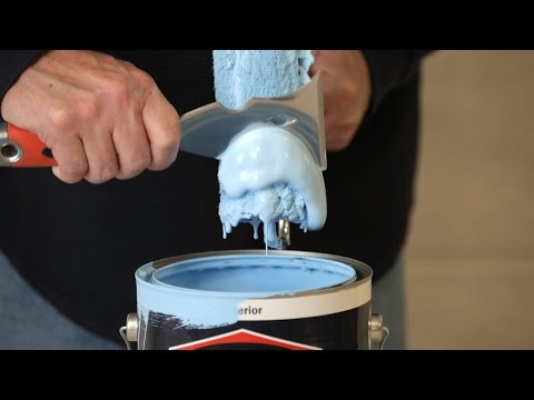 Paint Hacks: How to Get Excess Paint Out of a Roller Cover