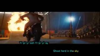 Ghost Riders In the Sky by Frankie Laine a karaoke video