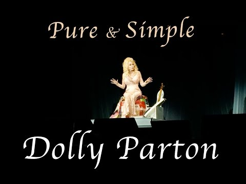 DOLLY PARTON PURE AND SIMPLE CONCERT