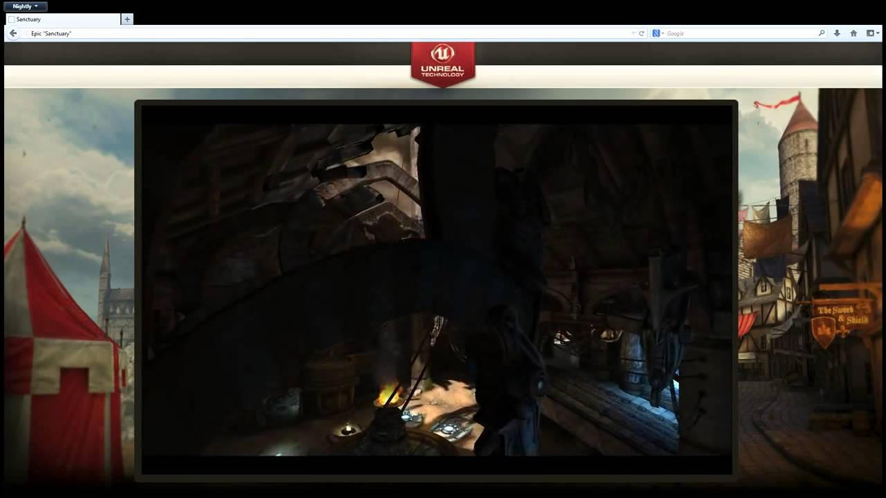 Unreal Engine 3 in Firefox with asm js
