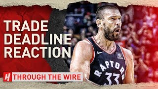 The Trade Deadline Made The East Amazing | Through The Wire Podcast
