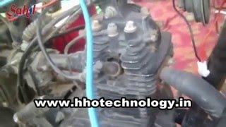Hydrogen generator kit installation in 100cc bike | Water fuel  kit for bike
