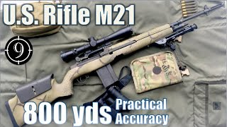 M21 to 800yds: Practical Accuracy  (Leupold Mk4 LR/T 3.5-10x40mm, M14/M1a sniper)