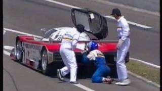 1994 - Le Mans - The leading Toyota encounter gearbox problems.