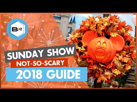 Guide to the 2018 Mickey's Not So Scary Halloween Party, Magic Kingdom