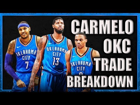 CARMELO TRADED! What Does This Mean for OKC?