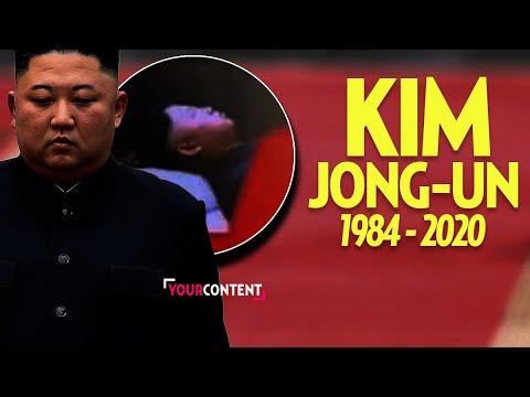 "Kim Jong-un Performing ""Rocket Man"" With Trump"