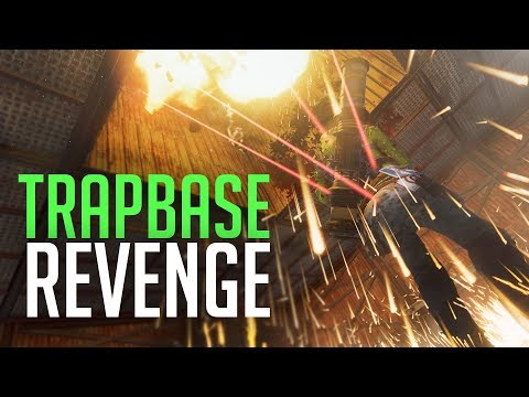 REVENGE RAID ON TRAPBASE - Rust Duo