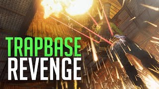 REVENGE RAID ON TRAPBASE - Rust Duo