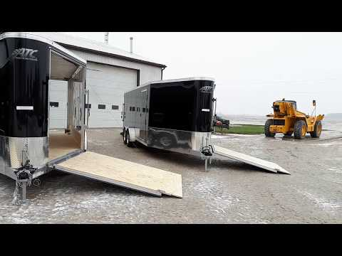 ATC Raven Snowmobile Trailer Tour - Bluewater Trailers