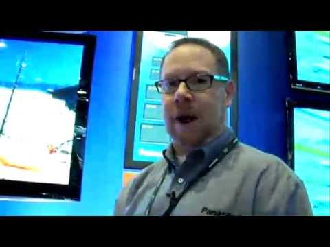 Panasonic New X1, 1080P Series S & Z1 LCD Screens CES 2009