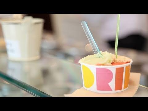 London's Newest  Ice Cream Parlour - Dri Dri