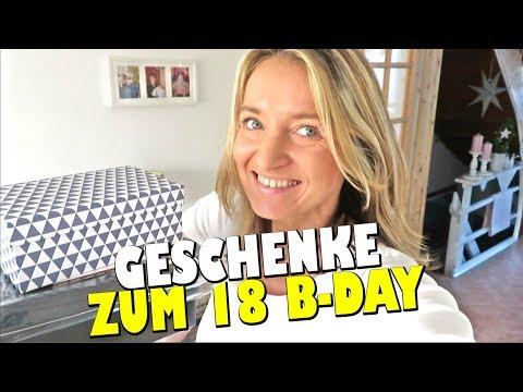 MEGA KRASSE & AUSGEFALLENE  GESCHENKE  ZUM 18. GEBURTSTAG   marieland Vlog # 234