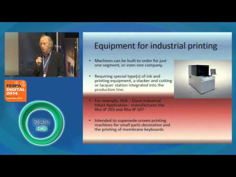 Will sign and wide format print production companies be able to do industrial printing?
