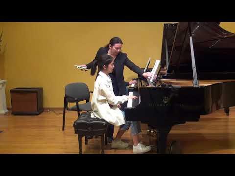 23.02.2018 Mira Marchenko's master-classes. QiQi. Schmitt Music, Kansas City, USA.