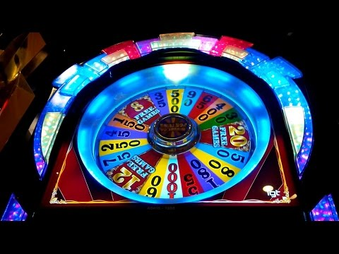 Wheel of Fortune Wild Red Sevens Slot - BACKUP SPIN SUCCESS! - 동영상
