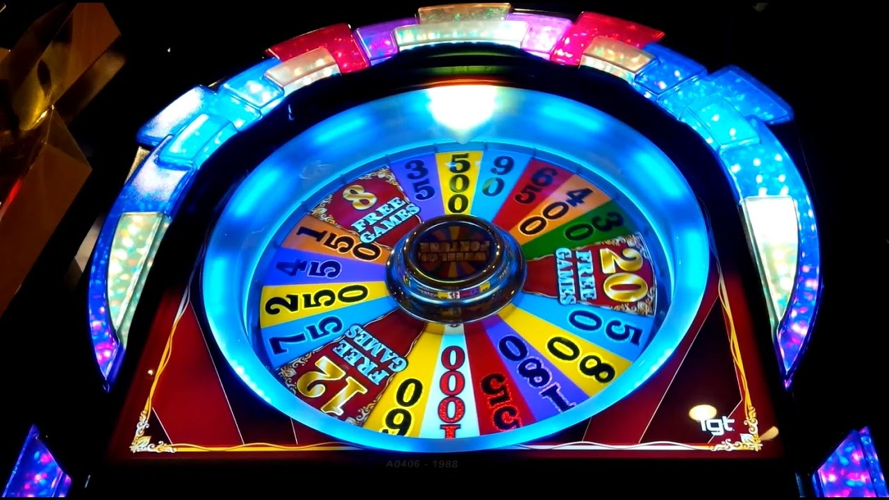 Free Spin Wheel Of Fortune Slots