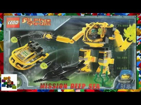 LEGO Instructions - Alpha Team - Alpha Team Aquatic Mech - 4789