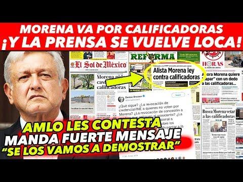 PRENSA QUIERE CORRER A INVERSIONISTAS DE MÉXICO Y CREAR CRISIS A AMLO