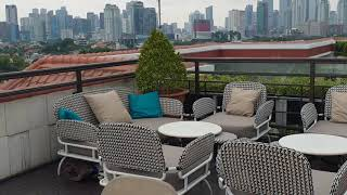 💥The Hermitage hotel Menteng Jakarta⭐ ~ Lavue Rooftop Bar and L'avenue restaurant - Indonesia