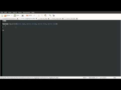 PHP Tutorial: Error Logging [part 02]