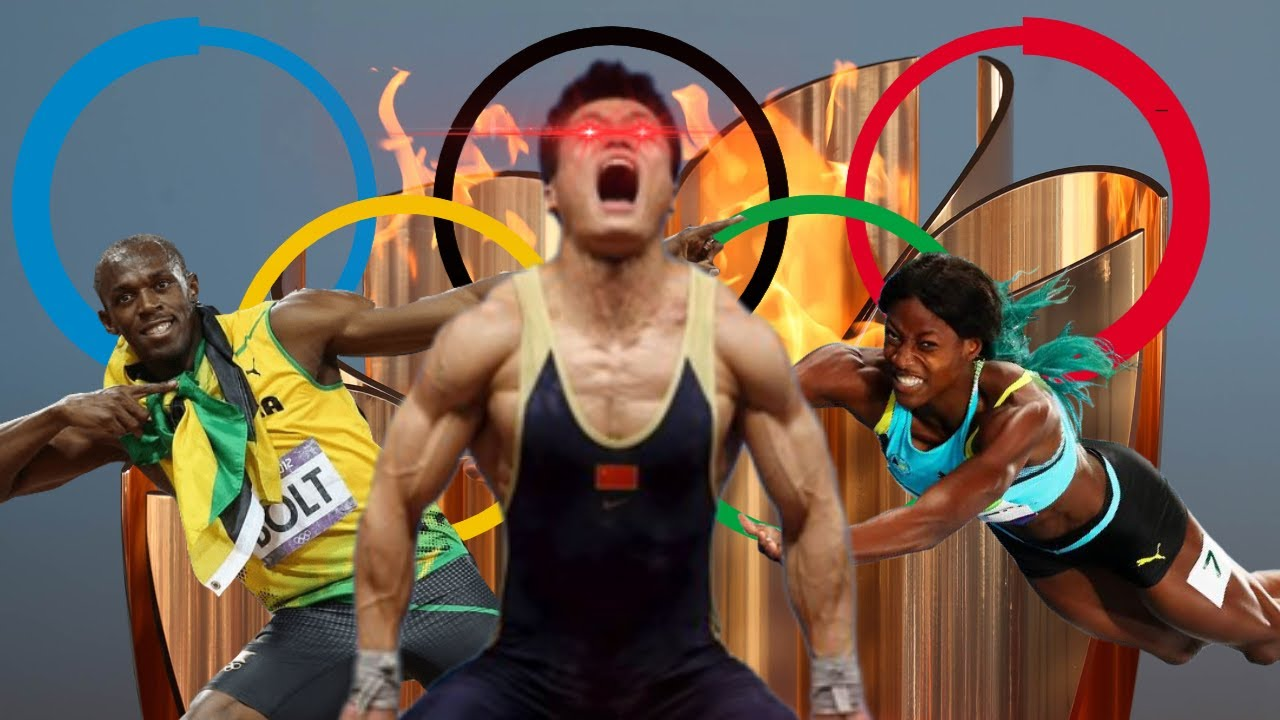 If The Olympics Were An Anime