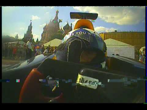 Bavaria City Racing Moscow 2009 - David Coulthard in Red Bull F1