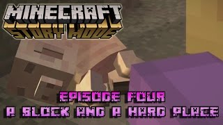 Minecraft: Story Mode Season One | Episode 4: A Block and a Hard Place [ FULL EPISODE ]