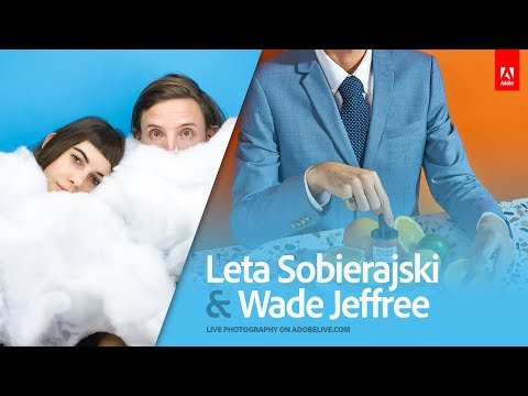 Live Photography with Leta Sobierajski and Wade Jeffree 1/3