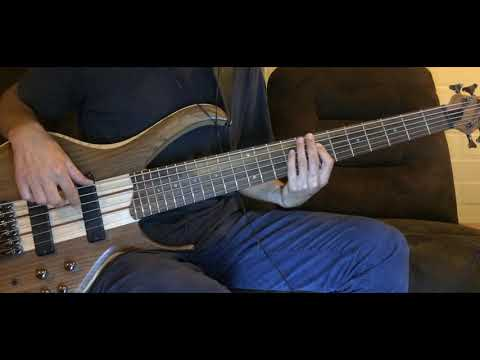 Fleetwood Mac - Everywhere cover bass