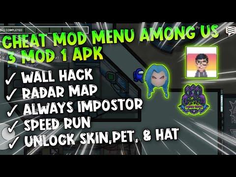 New Mod Menu Among Us 3 In 1 Youtube