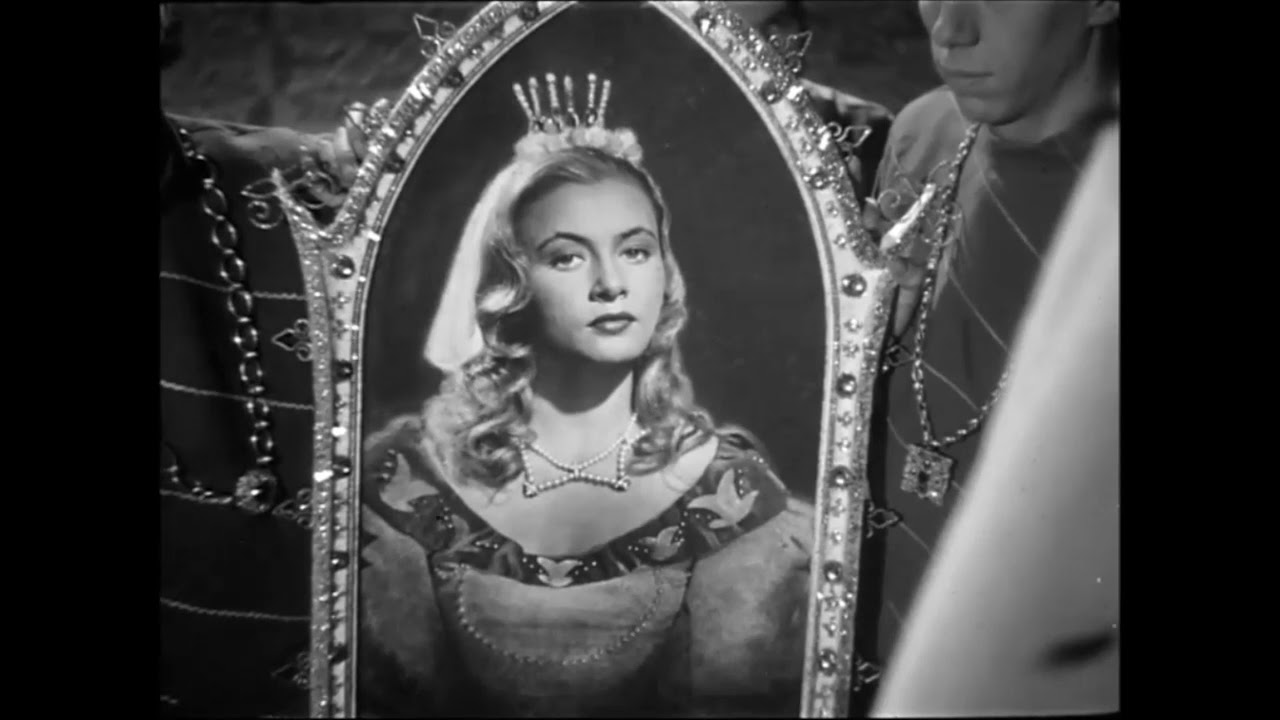 Pyšná princezna - obraz Krasomily
