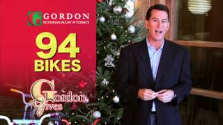 FREE 94 Bicycle Giveaway 2013 | Gordon Gives to Baton Rouge