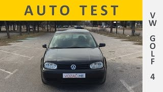 Volkswagen Golf 4 (test automobila)