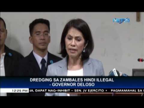 Dredging sa Zambales hindi illegal - Governor Deloso