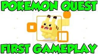 POKEMON QUEST GAMEPLAY! Let