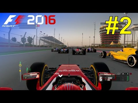 F1 2016 - Let's Make Kimi World Champion Again #2 - 100% Race 'Bahrain'