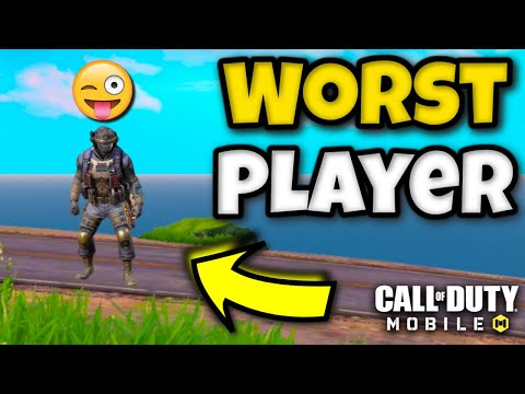 Worst COD Mobile Player Ever...