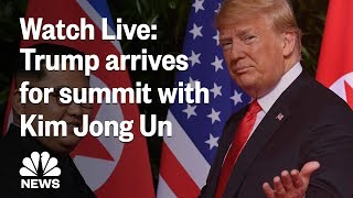 Special Report: Special Report: Trump arrives in Vietnam for summit with Kim Jong Un