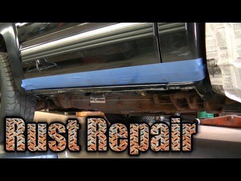 2000 Silverado Z71 Rusty Rocker Panel Repair Inner Rocker Install (1 of 2)