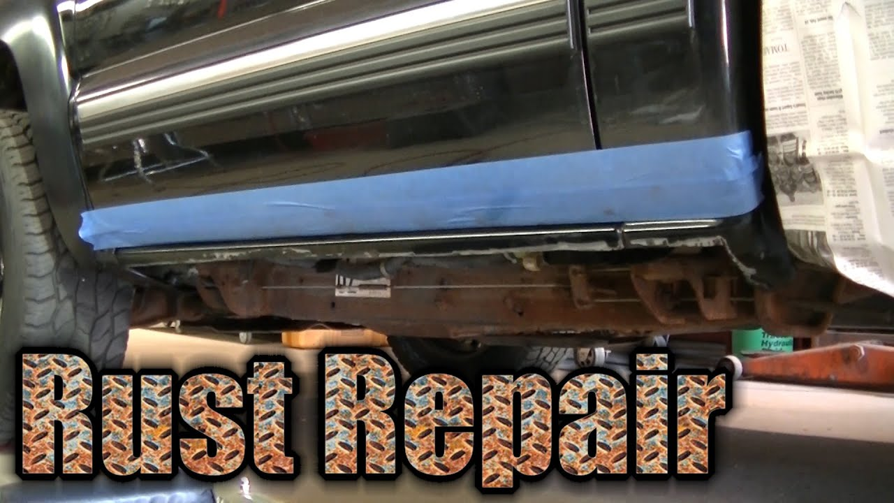 2000 Gmc Savana 2500 >> 2000 Silverado Z71 Rusty Rocker Panel Repair Inner Rocker Install (1 of 2) - YouTube